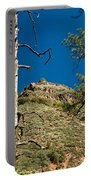 Lone Tree On The Mountain Portable Battery Charger