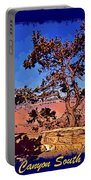 Lone Tree South Rim Poster Portable Battery Charger