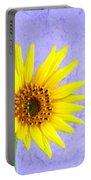 Lone Yellow Daisy Portable Battery Charger