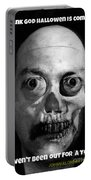 Lonely Zombie Portable Battery Charger