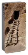 Long House Front Door Bandelier National Monument Portable Battery Charger