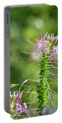 Long Lavender Fingers Portable Battery Charger