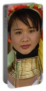 Long Necked Woman Of Thailand Portable Battery Charger
