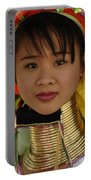 Long Necked Woman Thailand 4 Portable Battery Charger