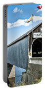 Longest Covered Bridge Portable Battery Charger