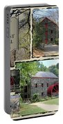 Longfellow's Grist Mill Portable Battery Charger by Patricia Urato