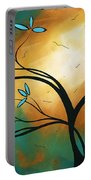 Longing By Madart Portable Battery Charger