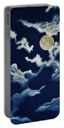 Look At The Moon Portable Battery Charger
