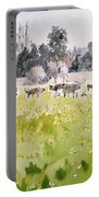 Looking Across Christ Church Meadows Portable Battery Charger