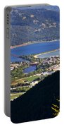 Looking Down On Sandpoint Portable Battery Charger