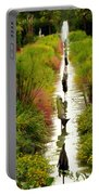 Looking Down Reflection Canal Portable Battery Charger