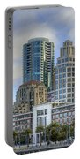 Looking Downtown Portable Battery Charger