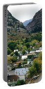 Looking Over Ouray From The Sutton Mine Trail Circa 1955 Portable Battery Charger