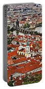 Looking Over Prague Portable Battery Charger