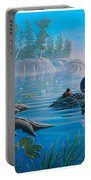 Loon Family Portable Battery Charger