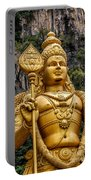 Lord Murugan Portable Battery Charger by Adrian Evans