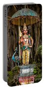 Lord Murugan Statue Portable Battery Charger