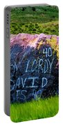 Lordy Lordy Portable Battery Charger by Jon Burch Photography