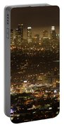 Los Angeles At Night Portable Battery Charger