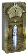Los Angeles City Hall Rotunda And Hall Portable Battery Charger