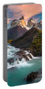 Los Cuernos Rising Portable Battery Charger
