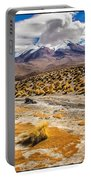 Lost In The Bolivian Desert Framed Portable Battery Charger