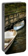 Lost Lake Boardwalk Portable Battery Charger by Michelle Calkins