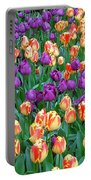 Lots Of Tulips Portable Battery Charger