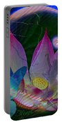 Lotus Flower Energy Portable Battery Charger