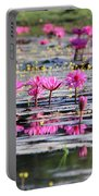 Lotus Flowers Portable Battery Charger