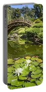 Lotus Garden - Japanese Garden At The Huntington Library. Portable Battery Charger
