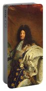 Louis Xiv In Royal Costume, 1701 Oil On Canvas Detail Of 59867 Portable Battery Charger