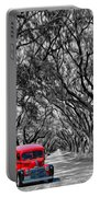 Louisiana Dream Drive Bw Portable Battery Charger
