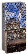 Louvre Museum Paris France Portable Battery Charger