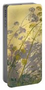 Lovage Clematis And Shadows Portable Battery Charger