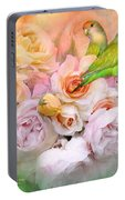 Love Among The Roses Portable Battery Charger
