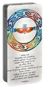 Love And Friendship Art By Sharon Cummings Portable Battery Charger