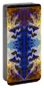 Love And Loss Abstract Healing Artwork Portable Battery Charger