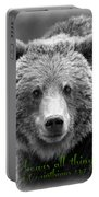 Love Bears All Things ... Portable Battery Charger