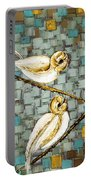 Love Birds- Warm Tone Portable Battery Charger
