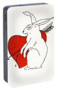 Love Bunny Portable Battery Charger