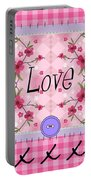 Love Cherry Blossom Portable Battery Charger