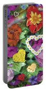 Love Flowers Garden Portable Battery Charger