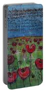 Love For Flanders Fields Poppies Portable Battery Charger