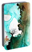 Love Has No Fear - Art By Sharon Cummings Portable Battery Charger