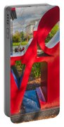 Love In City Park New Orleans Portable Battery Charger