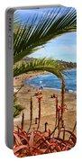 Love In Laguna Beach By Diana Sainz Portable Battery Charger