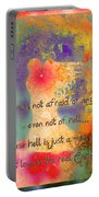 Love Is The Religion Portable Battery Charger