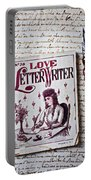Love Letter Writer Book Portable Battery Charger