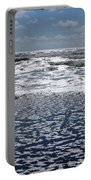 Love Letters In The Sand Portable Battery Charger